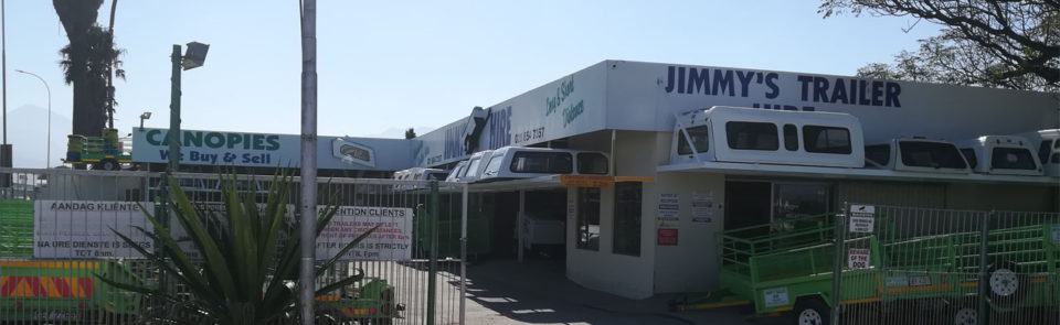 Jimmy's Trailer Hire – Trailer rentals, One-way and canopies
