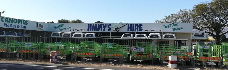 Jimmy's Trailer Hire – Cape Town, Helderberg